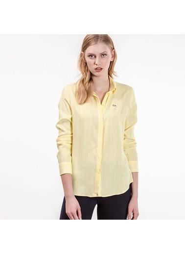 Çizgili Gömlek-Lacoste